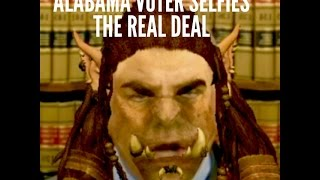 Alabama Voter Selfies the Real Deal