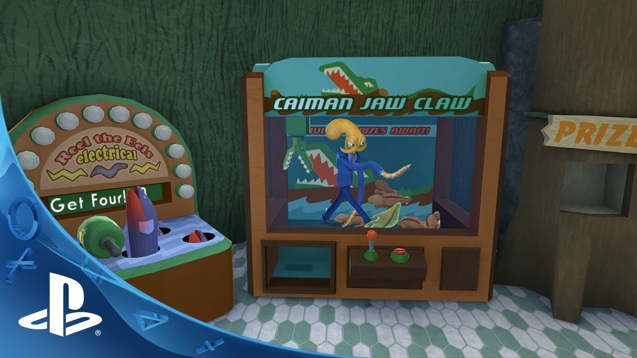 Octodad: Dadliest Catch Flails to PS4 Tuesday
