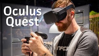 Oculus Quest Hands-on: Wireless VR for $399