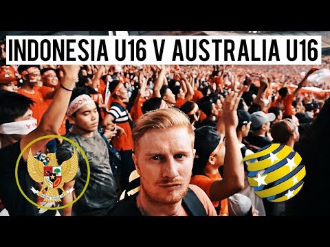 I WENT TO INDONESIA U16 V AUSTRALIA U16 (AMAZING FANS!!) AFC U16 CHAMPIONSHIP 2018 QUARTER FINALS
