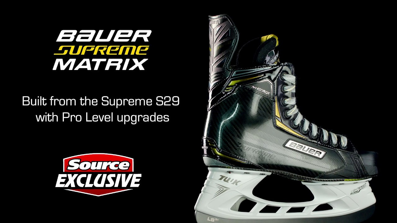 392f90d9b99 ... Hockey  Source Exclusive Bauer Supreme Matrix Skates. Image description