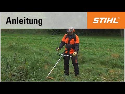 Mähtechnik-Tipp: Mähen im hohen Gras mit einer STIHL Motorsense