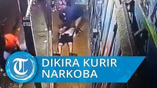 Viral Video CCTV Penangkapan Pria yang Dikira Kurir Sabu, Ternyata Cuma Cari Wifi untuk Gim Online
