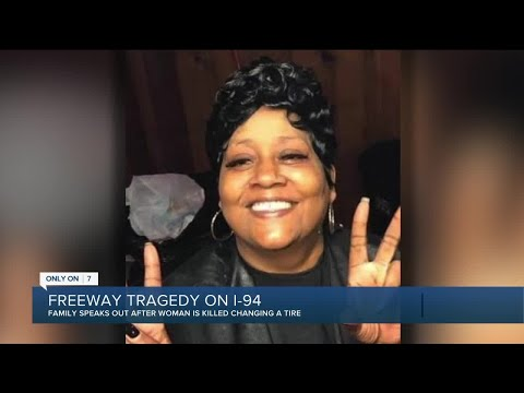 SMH: Wife killed, husband injured while changing tire on I-94 in Detroit