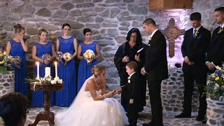 The Important Reason This Stepmom Made Wedding Vows to Her New Stepson That Included His Dad's Ex…