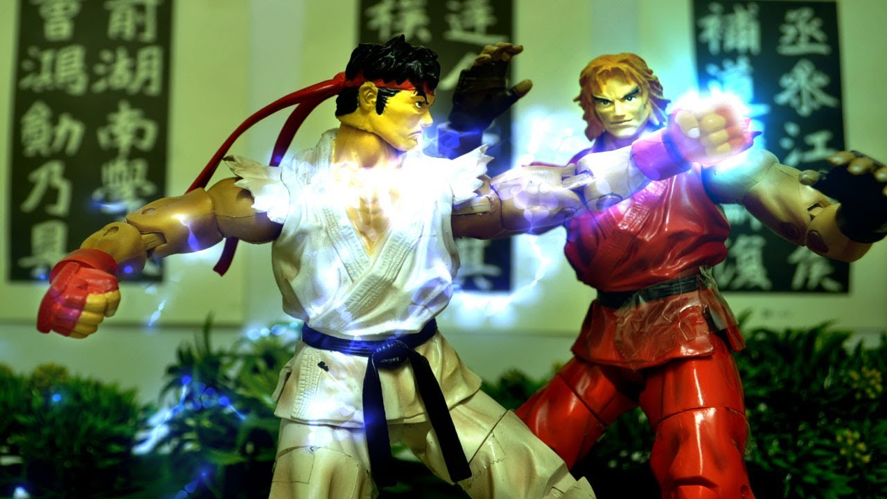 I Wish The Street Fighter Games Looked As Amazing As This Stop-Motion Movie