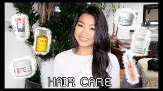HAIR CARE ROUTINE PT. 1 | DRY & DAMAGED TO SHINY & HEALTHY!