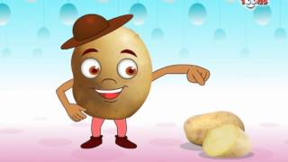 Vegetable Rhymes - Potato (English) for kids by Jingle Toons Nursary Rhymes Series (Animation)
