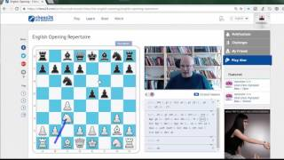 English Opening Repertoire released on Chess24