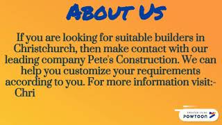 Choose Our Leading and Qualified House Builders Christchurch