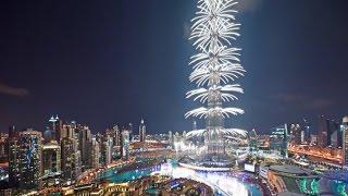 Новогодний салют в Дубае (2016)
