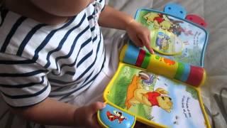 Produkttest: Winnie Pooh Abenteuerbuch von Vtech