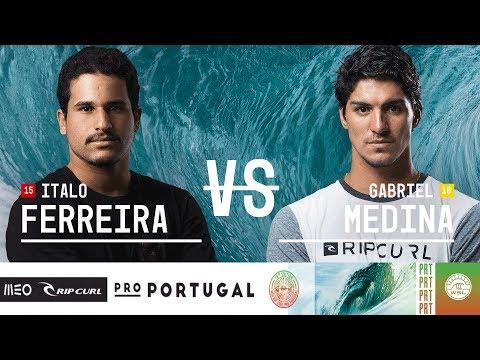 Italo Ferreira vs. Gabriel Medina - Semifinals, Heat 1 - MEO Rip Curl Pro Portugal 2018