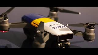 Qatar Police Drone hiden Camra Traffic Department tests drone