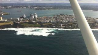 preview picture of video 'CULEBRA AIRPORT LANDING TRAINING'