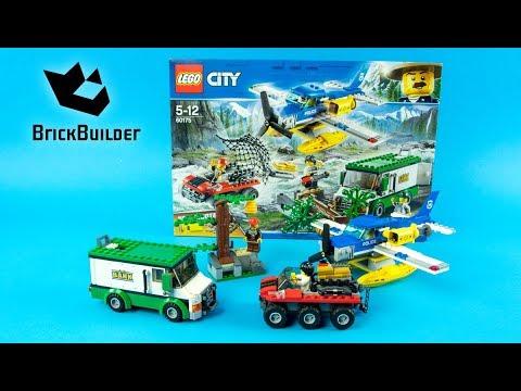 Vidéo LEGO City 60175 : Le braquage par la rivière