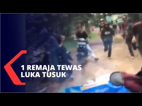 Detik-Detik Bentrokan Geng Motor di Bandung Barat, 1 Tewas Luka Tusuk