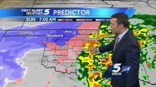 Forecast: Ice storm and blizzard expected Sunday
