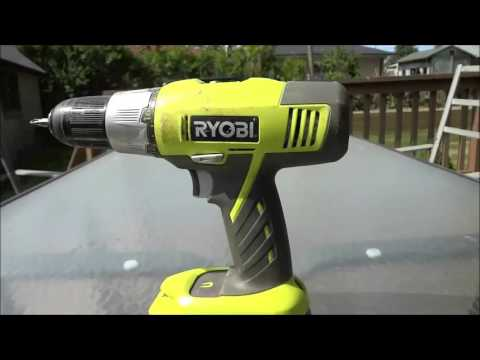 Ryobi Cordless Drill Review (P271)-18V