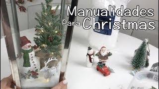 IDEAS PARA DECORAR EN NAVIDAD/Christmas Decorations Ideas 2018/Manualidades/diy/decoracion