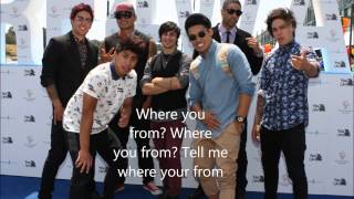 Where You From Lyrics - Beau Ryan ft. Justice Crew