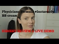 Physicians Formula #InstaReady BB Cream Review And Demo I NEW