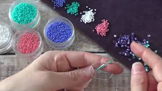 How to Start Beadweaving with Peyote and Brickstitch