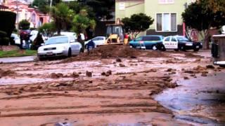 Water main breaks in South san Francisco