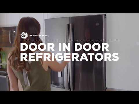 GE Appliances Door in Door Feature