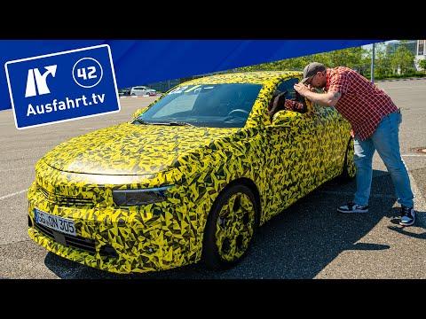 Opel Astra L 2022 - erster Fahreindruck, Erlkönig, erste Informationen, Validation Drive