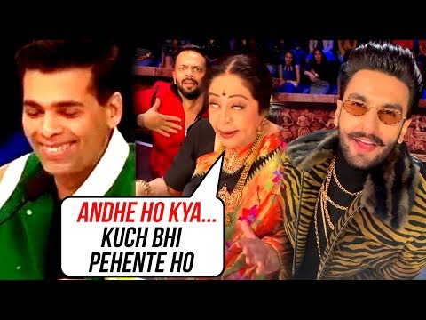 Kirron Kher INSULTS Ranveer Singh And Karan Johar
