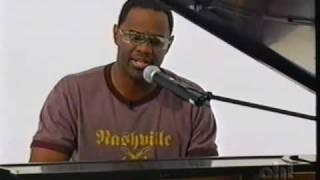 "Brian McKnight on Isaac Mizrahi performing ""Shoulda, Woulda, Coulda"""