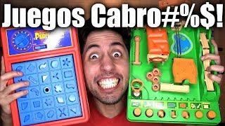 3 JUEGOS DE MESA DIVERTIDOS PERO CABRO#%$!!!! - ChideeTv