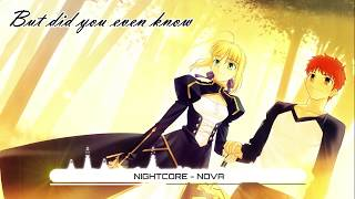 Nightcore - Nova - The Fallen State (Lyrics) ★