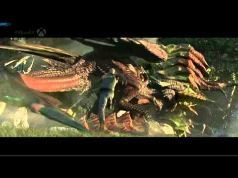 scalebound xbox one gameplay