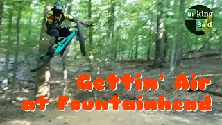 Biking Bad gang shreddin' the trails at Fountainhead