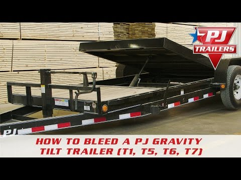 2020 PJ Trailers Single Axle HD Tilt (T1) 16 ft. in Hillsboro, Wisconsin - Video 1