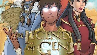 Сила Нового Аватара Генджи из Аватар Легенда о Генджи | Мультсериал Аватар Легенда об Аанге и Корре