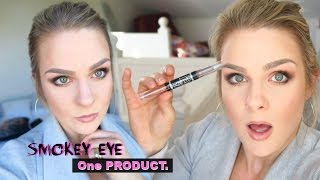 Everyday Smokey Eye Makeup - Using Only ONE Product !!!