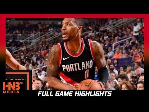 New Orleans Pelicans vs Portland Trail Blazers Full Game Highlights / Week 2 / 2017 NBA Season