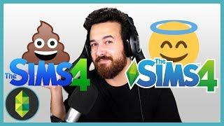 The Sims 4 in 2014 versus 2019