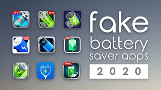 Battery Saver Apps Are FAKE | Don't Download These Apps in 2020