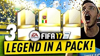 ⚠️⚠️⚠️ 3 LEGEND IN A PACK OPENING!!! WALKOUT AND INSANE IN-FORM! PACK OPENING SU FIFA 17 E FUTGALAXY