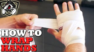 How To Wrap Hands for Boxing - Step By Step!