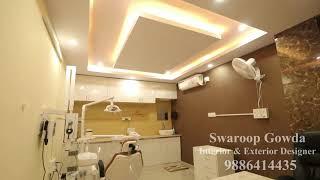 Vinamra Dental Clinic Interior Design By Swaroop Gowda