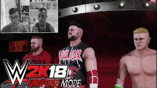 WWE 2K18 Universe Mode #74 SUPER MATCH 3 VS 3 AD HELL IN A CELL!!!