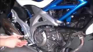 how to change spark plugs on Suzuki Gladius,  and coolant