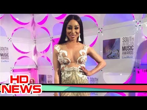 Khanyi Mbau's nude dress destroys internet
