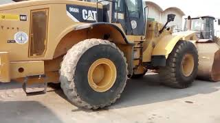 how to operate cat wheel loader 966H