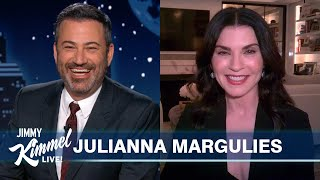 Julianna Margulies on Surprising Nurses, George Clooney's 60th & Her Eccentric Mom
